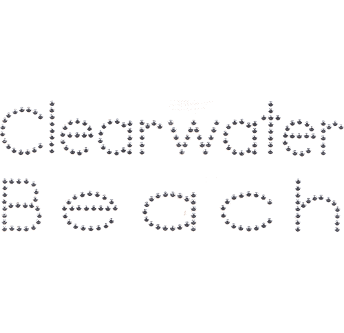S2767-CW<br>Silver Avant Garde &quot;Clearwater Beach&quot; namedrop