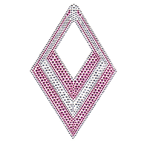 S6583-PINK - Pink Accent Diamond